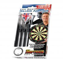 دارت 24 گرمی اریک بریستو هاروز - Harrows Eric Bristows Silver Arrows 24gK