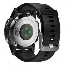 ساعت فنیکس 5 اس با بند سیلیکونی گارمین - Garmin Fenix 5s Silver Silicon Band