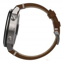 ساعت فنیکس کرونوس با بند چرمی گارمین - Garmin Fenix Chronos With Leather Band