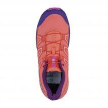 کفش دوی کوهستان بچه گانه سالومون - Salomon Speedcross K Shoes Living Cor/Acal/Rose