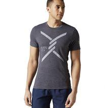 تی شرت ورزشی مردانه ریباک - Reebok T-Shirt Obstacle Terrain Racing Grey