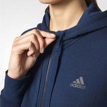 سوئت شرت زنانه آدیداس - Adidas Essentials Solid Full Zip Women's Hoodie