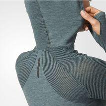 سوئت شرت زنانه آدیداس - Adidas Primeknit Wool Hooded Tee