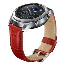 بند چرمی ساعت گیر اس 3 سامسونگ - Samsung Gear S3 Alligator Grain Leather Band