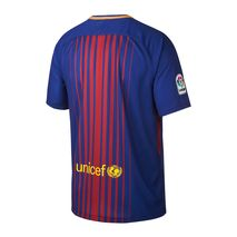 تی شرت فصل 18-2017 باشگاه بارسلونا - Nike 2017-18 FC Barcelona Stadium Home Men's Football Shirt