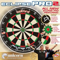 تخته دارت اکلیپس پرو 2  یونیکورن - Unicorn Eclipse Pro 2 Dartboard