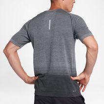 تی شرت ورزشی مردانه نایک - Nike Dri-FIT Knit Men's Short-Sleeve Running Top