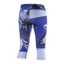 شلوار سه ربع استرچ ورزشی زنانه سالومون - Salomon Elevate 3/4 Tight W BL/BK/ Baja Blue