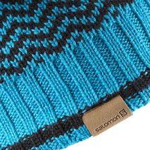 کلاه زمستانی بک کانتری سالومون - Salomon Back Country Beanie Blue/Eird/Black