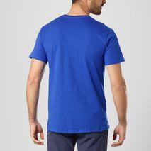 تی شرت ورزشی مردانه سالومون - Salomon Coton Logo SS Tee M Surf The Web