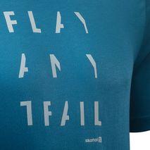 تی شرت ورزشی مردانه سالومون - Salomon Pulse SS Tech Tee M Moroccan Blue