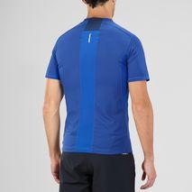 تی شرت ورزشی مردانه سالومون - Salomon Trail Runner SS Tee M Surf The Web/Dress Blue