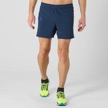 """شورت ورزشی مردانه سالومون - Salomon Agile 5"""" Short M Dress Blue"""