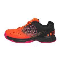 کفش تنیس بچه گانه ویلسون - Wilson Stroke Jr Shock Ora/Bk/Neon Red