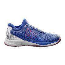 کفش تنیس مردانه ویلسون - Wilson Kaos 2.0 Sft Clay Court Maz Blue/Wh