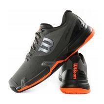 کفش تنیس مردانه ویلسون - Wilson Rush Pro 2.5 Clay Magnet/Bk/Shock Ora
