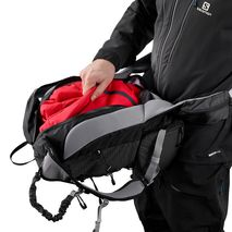 کوله پشتی 23 لیتری سالومون - Salomon Bag X Alp 23 Black