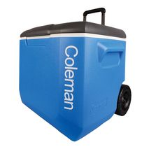 جعبه خنک نگهدارنده چرخ دار کلمن - Coleman 60QT Tricolour Wheeled Cooler