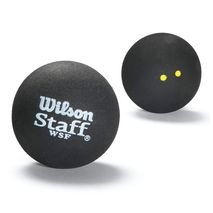 توپ اسکواش دو نقطه زرد ویلسون - Wilson Staff Squash 3 Ball Db Yel Dot