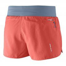 نمای پشت شورت ورزشی زنانه سالومون - Salomon Sense Pro Short W Coral Punch