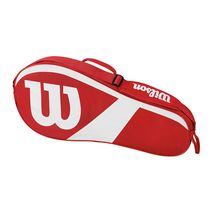 ساک تنیس ویلسون - Wilson Match III 3 Pack Red/White Tennis Bag
