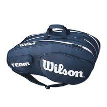 ساک تنیس ویلسون - Wilson Team III 12 Pack Blue/White Tennis Bag