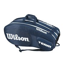 ساک تنیس ویلسون - Wilson Team III 12 Pack Blue/White Tennis Bag