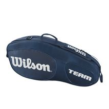 ساک تنیس ویلسون - Wilson Team III 3 Pack Blue/White Tennis Bag