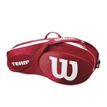 ساک تنیس ویلسون - Wilson Team III 3 Pack Red/White Tennis Bag