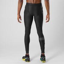 شلوار استرچ ورزشی مردانه سالومون - Salomon Fast Wing Long Tight M Black