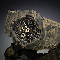 ساعت مردانه جی شاک کاسیو - Casio G-Shock GA-100CM-5ADR Men's Watch