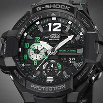 ساعت مردانه جی شاک کاسیو - Casio G-Shock GA-1100-1A3DR Men's Watch