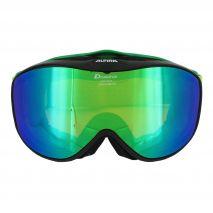 عینک اسکی آلپینا - Alpina Challenge 2.0 Black Matt-Green Mm Green