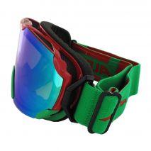 عینک اسکی آلپینا - Alpina Pheos S Red-Green Mm Green