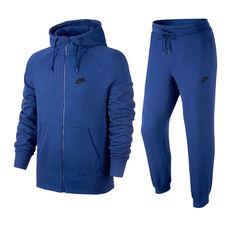 گرمکن مردانه نایک Nike AW77 Flc Hoody Trk ST