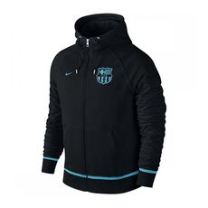 سوئت شرت باشگاه بارسلونا Nike FCB Auth AW77 Fz Hoody