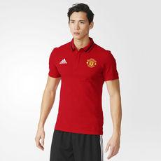 تی شرت تیم منچستر یونایتد آدیداس - Adidas Manchester United Pique Polo Shirt