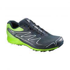 کفش دوی مردانه سالومون - Salomon Shoes Sense Pro M DeepBlue/GrannyGreen/Whi