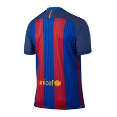 تی شرت فصل 17-2016 باشگاه بارسلونا - Nike 2016-17 FC Barcelona Vapor Match Home Men's Soccer Jersey