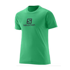 تی شرت ورزشی مردانه سالومون - Salomon Ss Logo Cotton Tee M