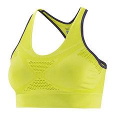 تاپ ورزشی زنانه سالومون - Salomon Medium Impact Bra Yuzu Yellow