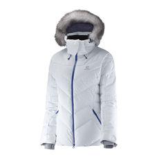 کاپشن اسکی زنانه سالومون - Salomon Icetown Jacket W White