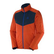 کاپشن مردانه سالومون - Salomon Drifter Mid Jacket M Vivid Orange