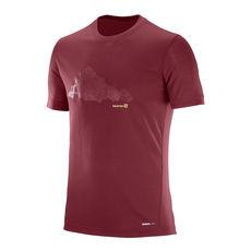 تی شرت ورزشی مردانه سالومون - Salomon Explore Graphic SS Tee M Sun-Dry-Totmato