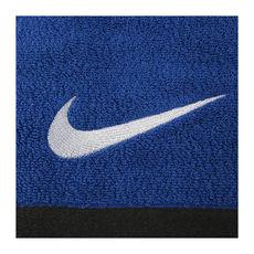 حوله نایک آبی Nike Fundamental Towel swoosh logo
