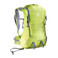 کوله پشتی 23 لیتری سالومون - Salomon Bag X Alp23 Lime Punch/ Surf The Web