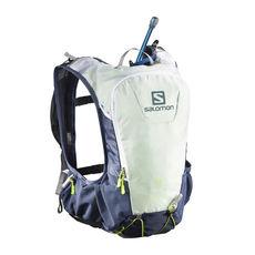 کوله پشتی 10 لیتری سالومون - Salomon Bag Skin Pro 10 Set Vintage Indigo / White