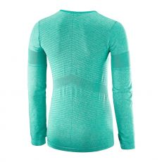 پیراهن ورزشی زنانه سالومون - Salomon Elevate Seamless Ls Tee W Dynasty Green