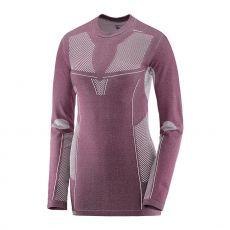 پیراهن ورزشی زنانه سالومون - Salomon Primo Warm Ls Cn Tee W Fig