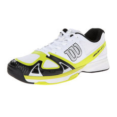 کفش تنیس مردانه ویلسون Wilson Rush Evo Coal Tennis Shoes